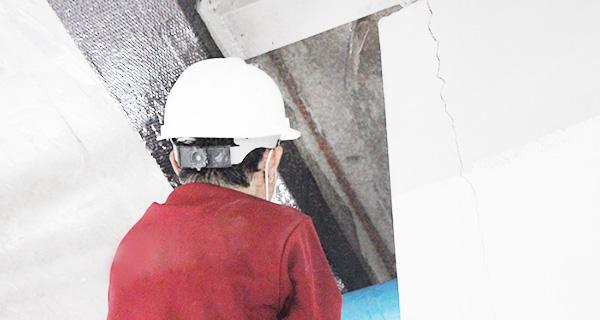 quy trình chống thấm dột trần nhà