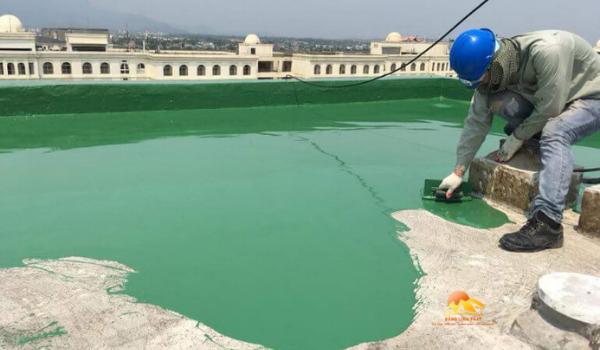 Quy trình chống thấm sân thượng bằng sơn Epoxy