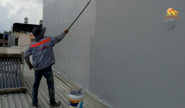 quy trình chống thấm tường nhà triệt để